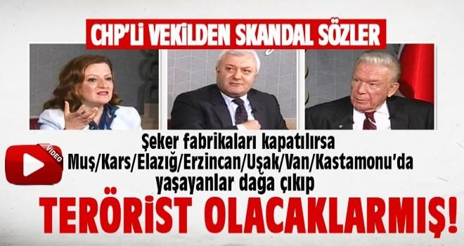 CHP'li Melike Basmacı'dan skandal sözler: Dağa çıkıp terörist olacaklar...