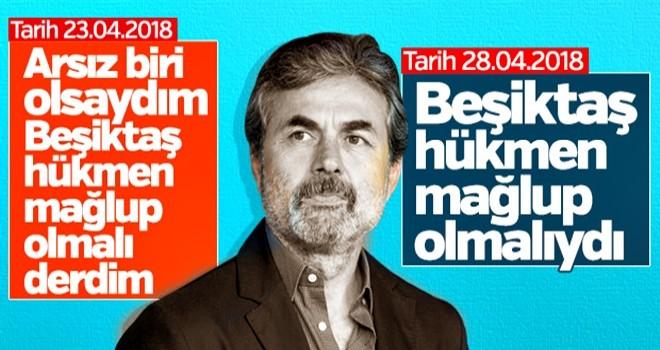 Aykut Kocaman: Beşiktaş hükmen mağlup sayılmalı