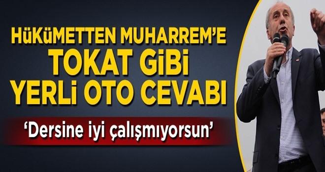 Bakan Özlü'den Muharrem'e 'yerli otomobil' cevabı