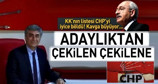 CHP'li milletvekili adayı Hasan Ramiz Parlar adaylıktan çekildi .