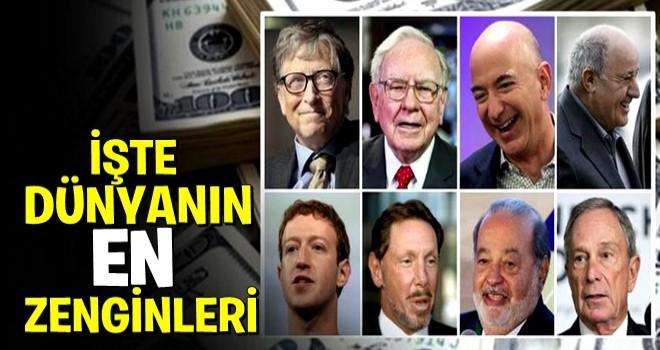 İşte dünyanın en zenginleri arasındaki 40 Türk!