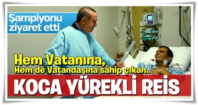 Cumhurbaşkanı Erdoğan Naim Süleymanoğlu'nu ziyaret etti
