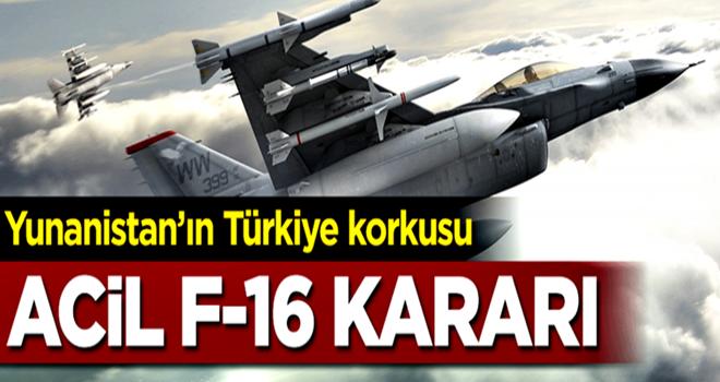 Türkiye korkusu Yunanistan'a bunu yaptırdı!