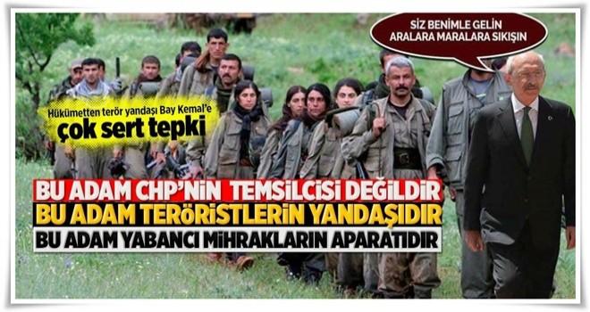 Hükümetten Bay Kemal'e çok sert tepki .