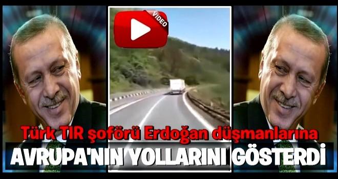 Erdoğan düşmanlarına Avrupa'nın yollarını gösterdi