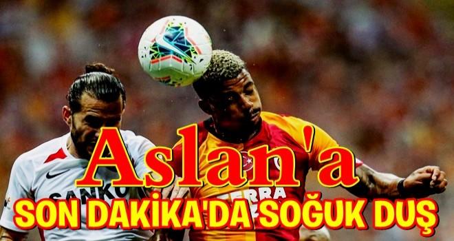 Galatasaray: 3 - Gaziantep FK : 3