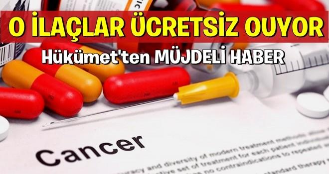Kanser hastalarına müjde! .