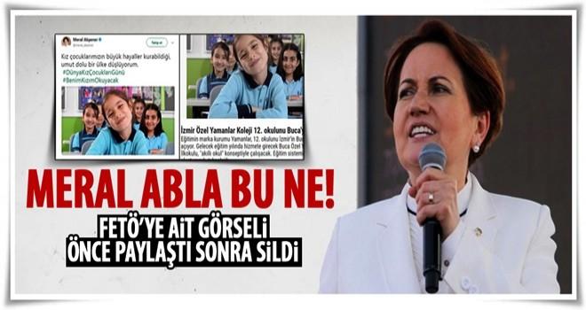 Meral Akşener o tweetleri sildi