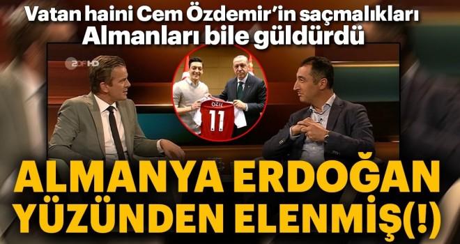 Almanlar büyük saçmaladı: Dünya Kupası'ndan Erdoğan yüzünden elenmişler...
