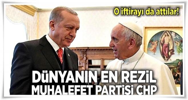Vatikan'dan CHP'nin çirkin iddialarına yalanlama .