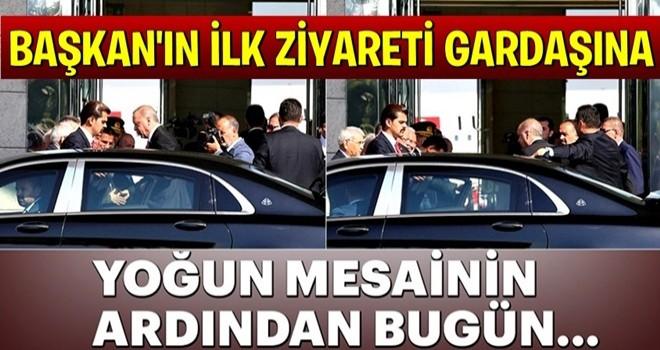 Başkan Erdoğan, Azerbaycan'a gitti