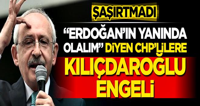 'Ülkeye sahip çıkalım' diyen CHP'lilere Kılıçdaroğlu karşı çıktı