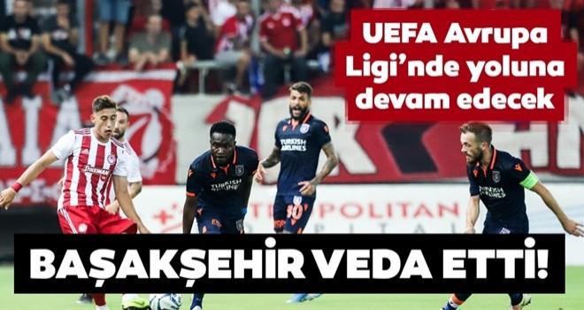 Medipol Başakşehir UEFA Şampiyonlar Ligi'ne veda etti