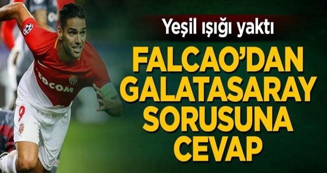 Yeşil ışığı yaktı! Falcao Galatasaray sorusuna cevap verdi
