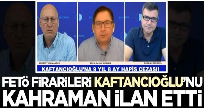 FETÖ firarileri Canan Kaftancıoğlu'nu kahraman ilan etti: Şandır, şereftir...
