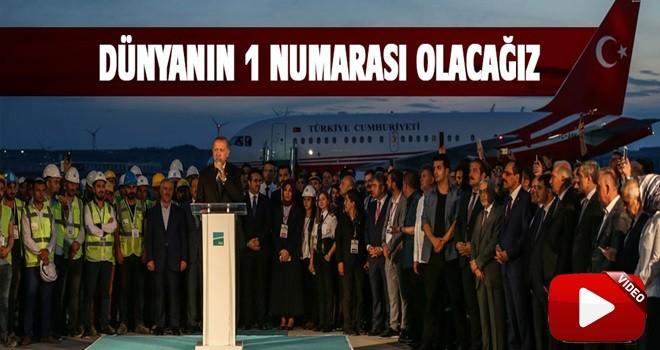 Cumhurbaşkanı Erdoğan'dan 3.Havalimanında ilk açıklama