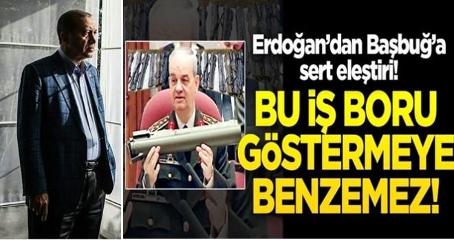 Başkan Erdoğan'dan İlker Başbuğ'a bomba gönderme!