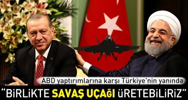 Ruhani: Türkiye ve İran savunma sanayisinde iş birliği yapabilir .