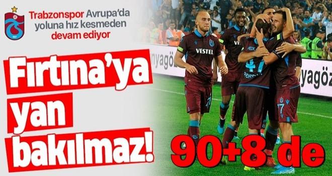 Trabzonspor 90+8'de tur atladı!