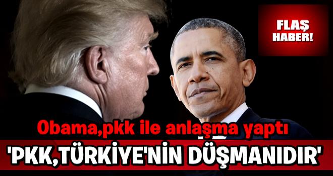 Trump: PKK Türkiye'nin düşmanı, uzun yıllardır mücadele ediyorlar .
