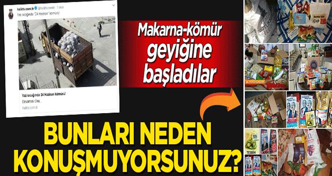 CHP yandaşı medya makarna-kömür geyiğine başladı