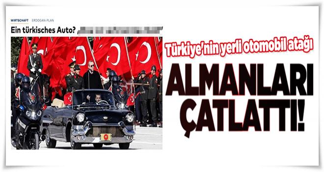 Türkiye'nin yerli otomobil atağı Almanları rahatsız etti  .