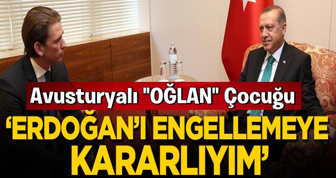 Düşmanlığını bir kez daha yineledi! 'Erdoğan'ı engellemeye kararlıyım'