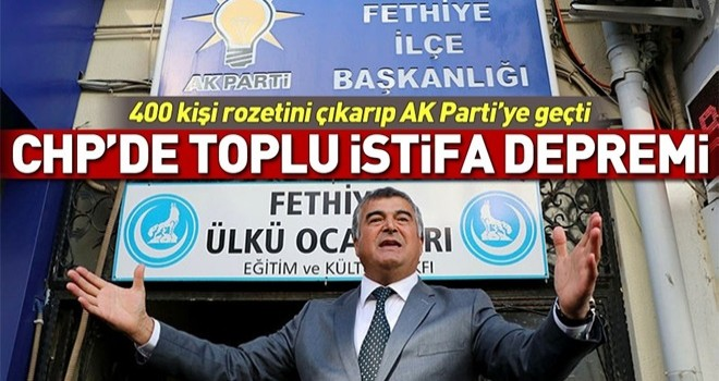CHP'den istifa eden başkan adayı AK Parti'ye geçti