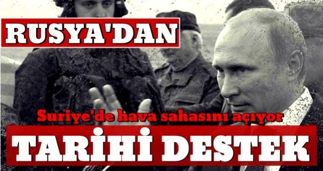Rusya'dan Türkiye'ye PKK/YPG ile mücadelede tarihi destek!