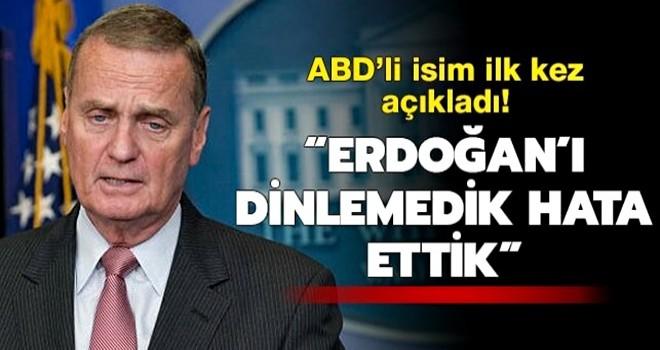 'Türkiye önerdiği zaman güvenli bölge kurulmalıydı'