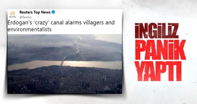 Reuters'ın Kanal İstanbul haberi