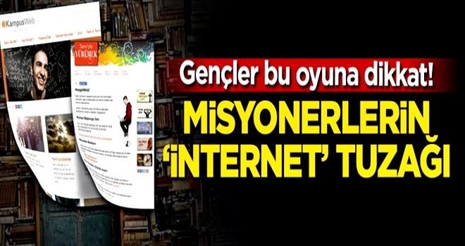 Gençler bu oyuna dikkat! Misyonerlerin 'internet' tuzağı