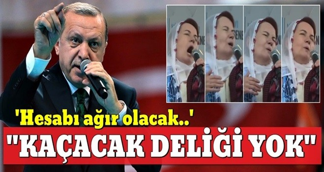 Başkan Erdoğan'dan Akşener'e sert sözler: ''Kaçacak yeri yok, hesaplaşacağız...''