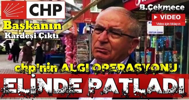 'Evimize gelip oy verdiğimiz partiyi sordular' diyen kişi CHP'li başkanın kardeşi çıktı!