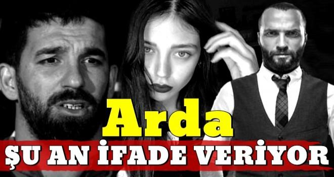 Arda Turan Emniyet'te ifade veriyor...