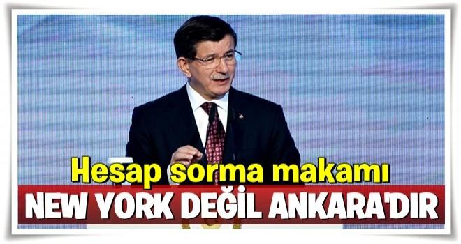 Davutoğlu'ndan flaş 'Zarrab davası' açıklaması! Kim haksız kazanç elde etmişse...