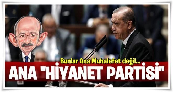 Cumhurbaşkanı Erdoğan'dan Kemal Kılıçdaroğlu'na sert tepki!.