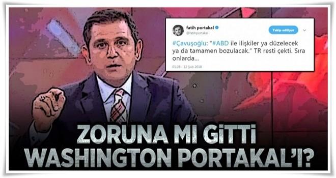 Fatih Portakal'a sosyal medyada büyük tepki .
