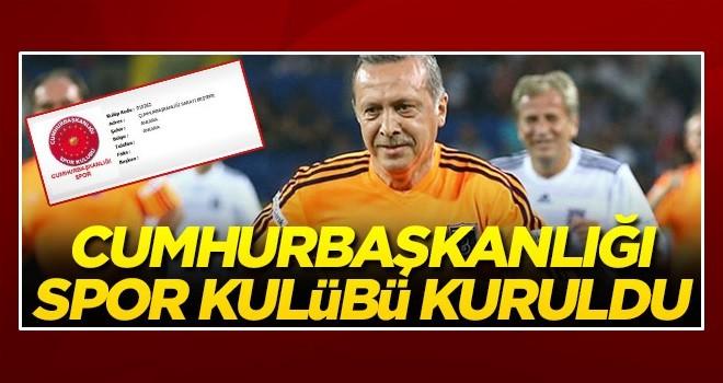 Cumhurbaşkanlığı Spor Kulübü kuruldu ! Hedef Süper Lig