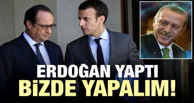 Fransa'ya Türk Modeli: Erdoğan yaptı, sıra bizde