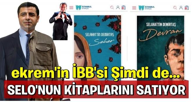İBB Demirtaş'ın kitaplarını da satmaya başladı!!