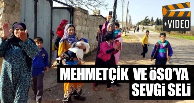 Mehmetçik ve ÖSO' ya sevgi seli