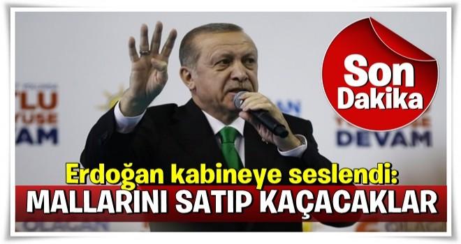 Erdoğan kabineye seslendi: Sakın izin vermeyin!