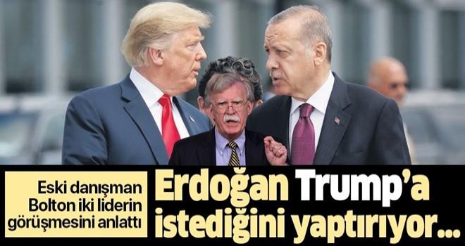 ABD Ulusal Güvenlik eski Danışmanı John Bolton: Erdoğan Trump'a istediğini yaptırıyor