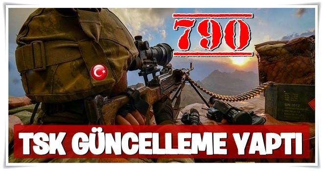 Afrin Operasyonunun 13. Gününde TSK'dan Açıklama: 790 Terörist Etkisiz Hale Getirildi