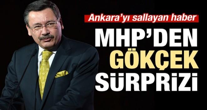MHP'den kulisleri sallayan 'Melih Gökçek' sürprizi