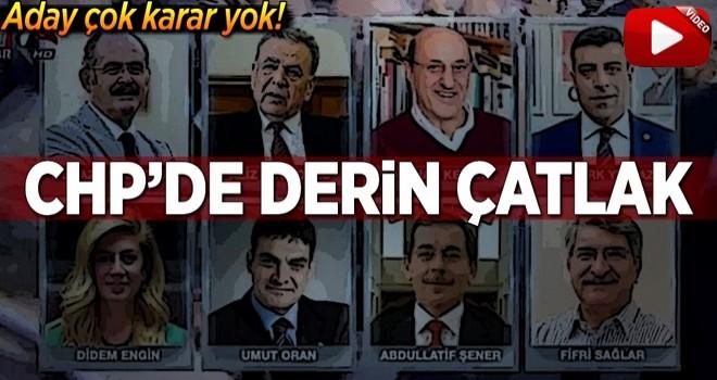 CHP'de aday çok karar yok! İşte o isimler