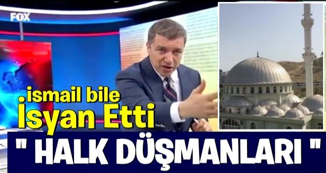 İzmir'deki cami provokasyonuna İsmail Küçükkaya bile isyan etti: Halk düşmanlarını bulun