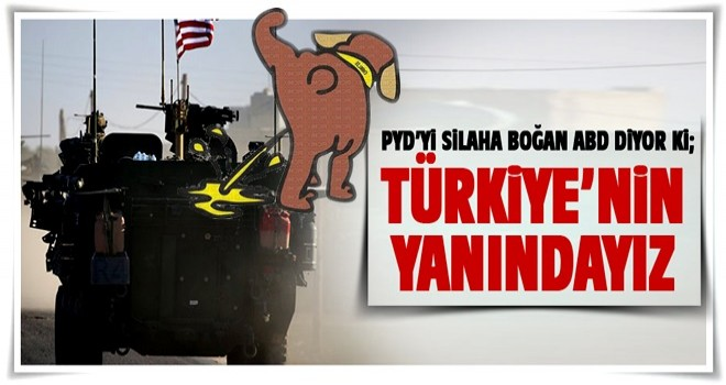 PYD'yi silaha boğan ABD'den PKK açıklaması!
