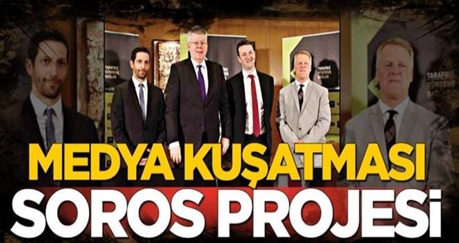 Medya kuşatması Soros projesi